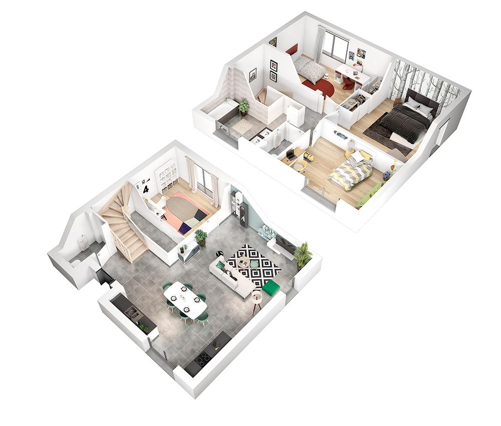 Le Mas Toulousain - Modèle de maison